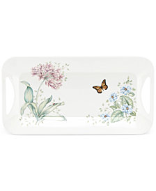 Lenox Butterfly Meadow Melamine Hors D'Oeuvre Tray
