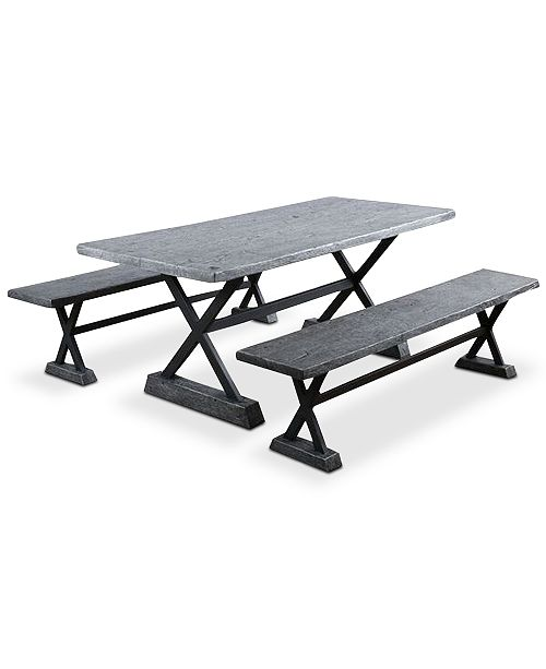 Furniture Kelson 3-Pc. Picnic Table Set, Quick Ship