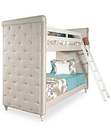 Madison Kids Twin over Twin Bunk Bed