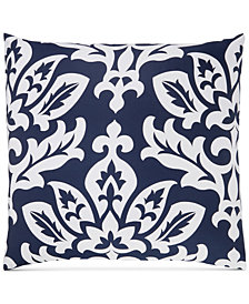 Charter Club Damask Designs Cotton Navy European Sham, Created for Macy's