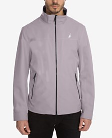 Nautica Men's Big and Tall  Stretch Performance Windbreaker and Rain Jacket