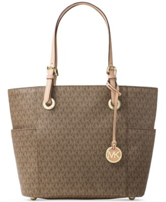 Image of MICHAEL Michael Kors Signature Jet Set East West Large Tote