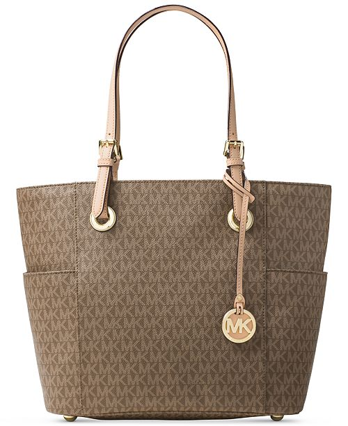 1212e1228669 Michael Kors Signature Jet Set East West Tote & Reviews - Handbags ...