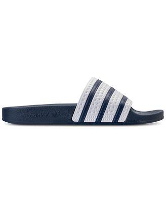 Adidas uomini adilette slide sandali dal traguardo traguardo