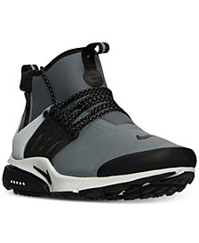 Nike Men's Air Presto Utility Mid Running Sneakers from Finish Line