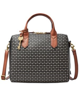FIONA SMALL PRINTED SATCHEL
