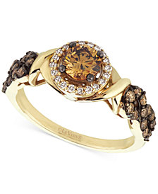 Le Vian Chocolatier® Diamond (9/10 ct. t.w.) Engagement Ring in 14k Gold