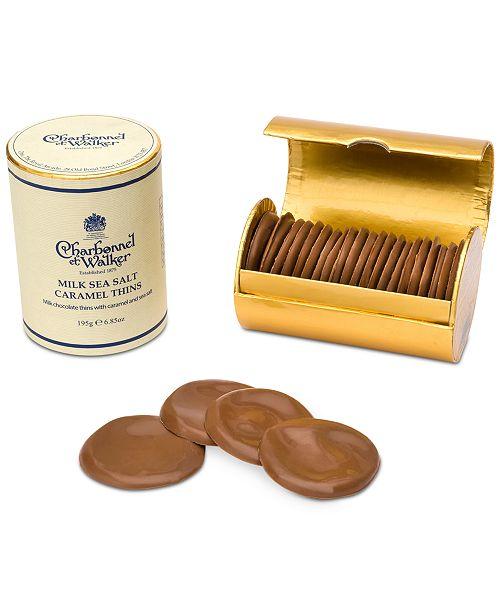 73742dd813 Charbonnel et Walker Milk Chocolate Sea Salt Caramel Thins   Reviews ...