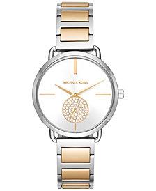 Michael Kors Women's Portia Two-Tone Stainless Steel Bracelet Watch 37mm MK3679