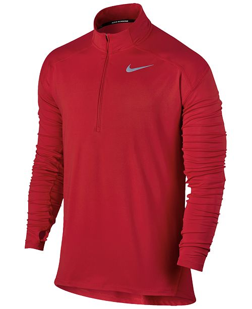 098f379b Nike Men's Dry Element Half-Zip Running Top & Reviews - Activewear ...