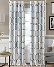Kaiden Blackout Linen Window Panel Collection