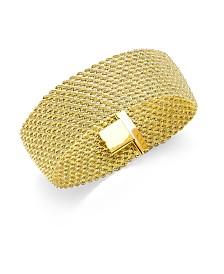Italian Gold El Dorado Link Bracelet in 14k Gold