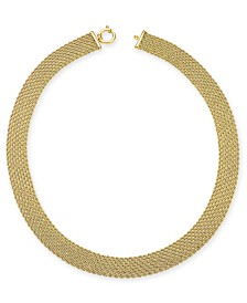 Italian Gold El Dorado Link Chain Necklace in 14k Gold