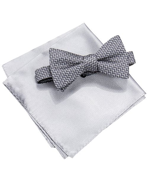 80cd9c267264 Alfani Bow Tie & Pocket Square Set, Created for Macy's & Reviews ...