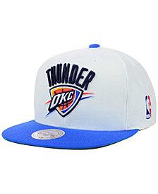 Mitchell & Ness Oklahoma City Thunder XL Logo Snapback Cap