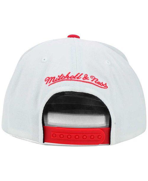 finest selection d6a43 8fc81 Mitchell   Ness Portland Trail Blazers XL Logo Snapback Cap ...