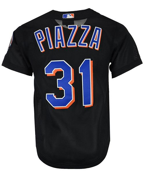 ... Mitchell   Ness Men s Mike Piazza New York Mets Authentic Mesh Batting  Practice V-Neck ... db4a7d85e