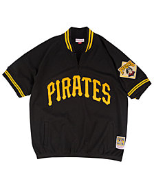 Mitchell & Ness Men's Pittsburgh Pirates BP Mesh Jersey Top