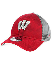 New Era Wisconsin Badgers Team Rustic 9TWENTY Cap