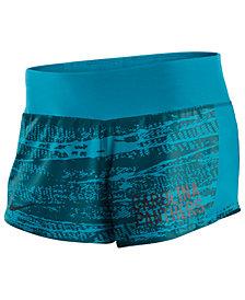 Nike Women's Carolina Panthers Printed Crew Shorts