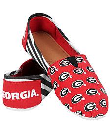 Forever Collectibles Georgia Bulldogs Canvas Logo Shoe
