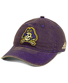 adidas East Carolina Pirates Over Dye Slouch Cap