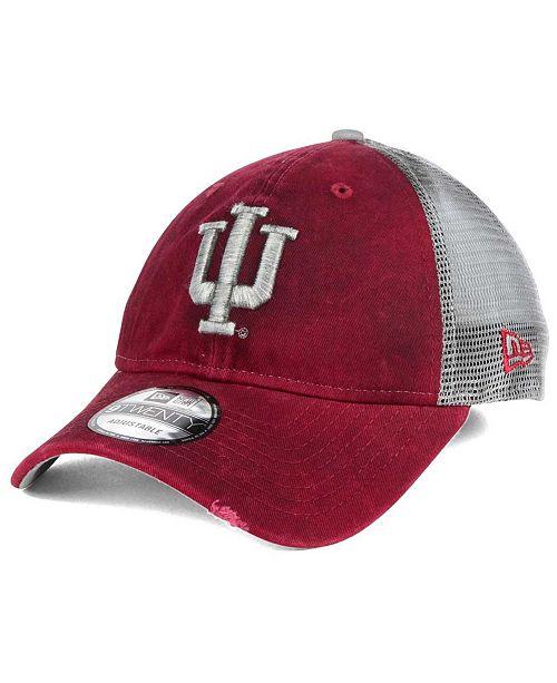 New Era Indiana Hoosiers Team Rustic 9TWENTY Cap