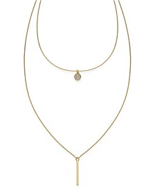 INC High-Low Layered Pendant Necklace, Created for Macy's