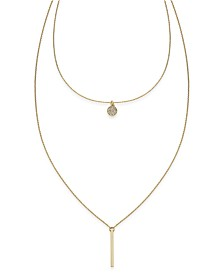 I.N.C. High-Low Layered Pendant Necklace, Created for Macy's