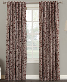 "Sun Zero Kalanie Floral 50"" x 95"" Blackout Lined Back-Tab Curtain Panel"