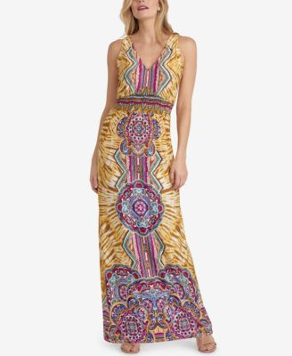 Eci maxi belted skirt dress