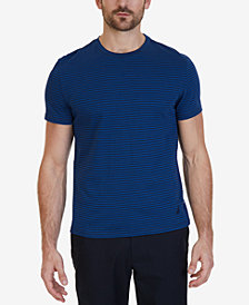 Nautica Men's Striped Cotton Crew Neck T-Shirt