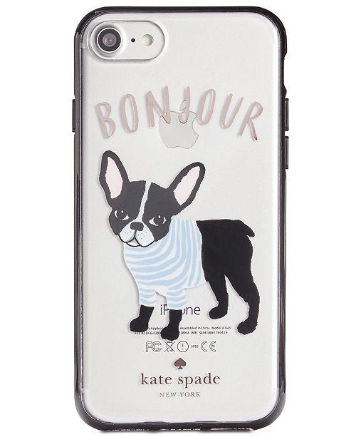 huge selection of c8273 0e9bb kate spade new york Bonjour iPhone 8 Case & Reviews - Handbags ...