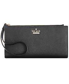 kate spade new york Cameron Street Eliza Saffiano Leather Wristlet