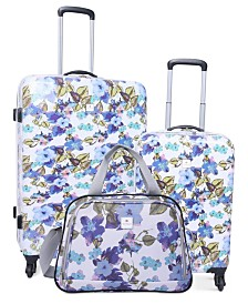 Tag Pop Art 3-Pc. Hardside Spinner Luggage Collection Set, Created for Macy's