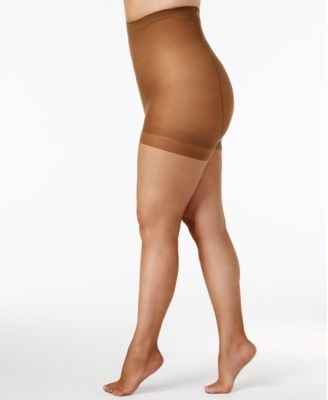 Image of Berkshire Plus Size Ultra Sheer Control Top Hosiery 4411