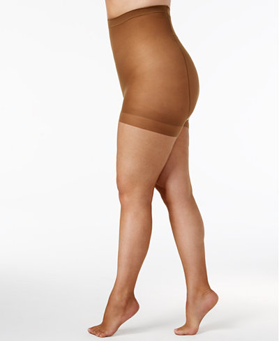 Berkshire Plus Size Ultra Sheer Control Top Hosiery 4411