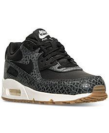 Nike Women's Air Max 90 Premium Running Sneakers from Finish Line