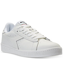 Diadora Men's Game L Low Waxed Casual Sneakers from Finish Line
