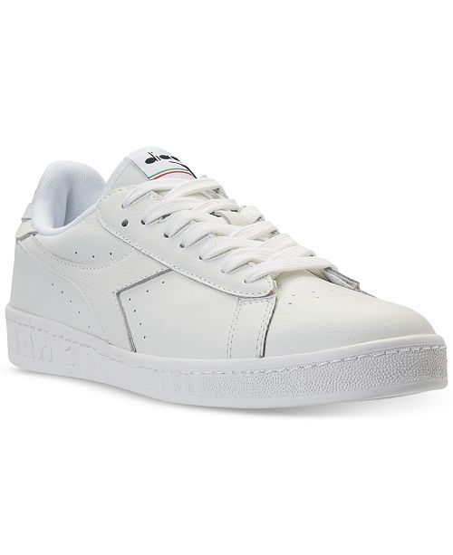 068eb8c108c5f Diadora Men's Game L Low Waxed Casual Sneakers from Finish Line ...