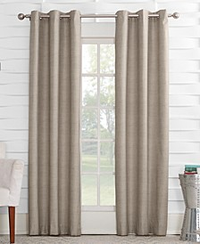 """Oscar 40"""" x 95"""" Thermal Lined Grommet Curtain Panel"""