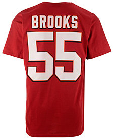 Majestic Men's Derrick Brooks Tampa Bay Buccaneers HOF Eligible Receiver T-Shirt