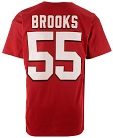 Majestic Men's Derrick Brooks Tampa Bay Buccaneers HOF Eligible Receiver T-Shirt