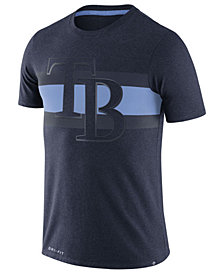 Nike Men's Tampa Bay Rays Dri-Blend Stripes T-Shirt