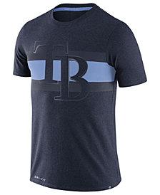 Nike Men's Tampa Bay Rays Dri-Blend Stripes T-Shirt