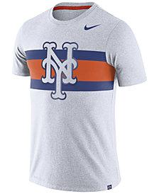 Nike Men's New York Mets Dri-Blend Stripes T-Shirt