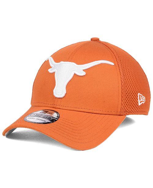 on sale 2f902 5cb01 New Era Texas Longhorns Mega Team Neo 39THIRTY Cap - Sports Fan Shop ...