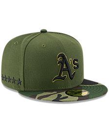 New Era Oakland Athletics Memorial Day 59FIFTY Cap
