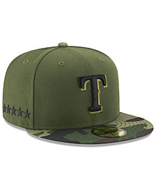 New Era Boys' Texas Rangers Memorial Day 59FIFTY Cap
