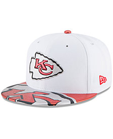New Era Boys' Kansas City Chiefs 2017 Draft 59FIFTY Cap